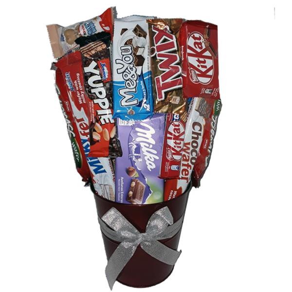 papelera chocolate variado V1